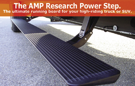 The Ultimate running board for you truck or suv